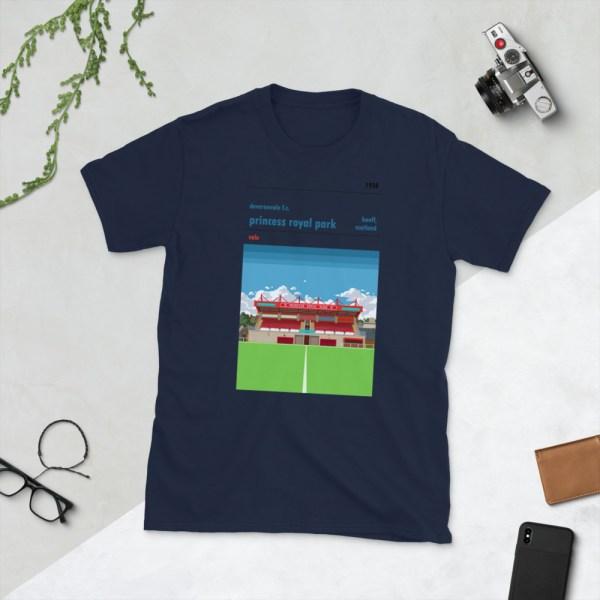 Navy Deveronvale and Princess Royal Park T-Shirt