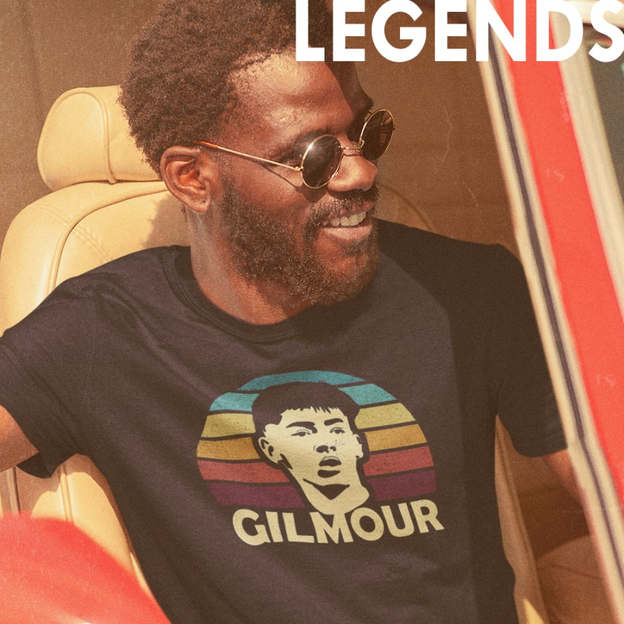 Legends of World Soccer T-Shirts on Football Stadium PRints