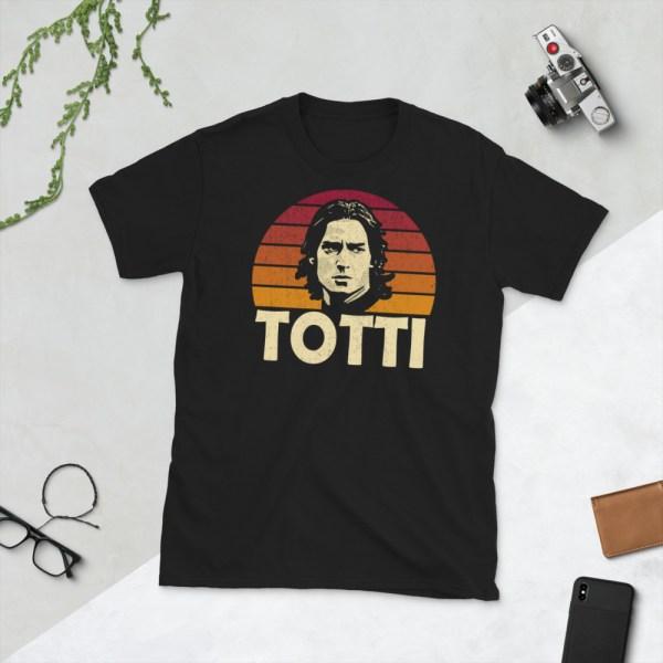 Black Francesco Totti T-Shirt