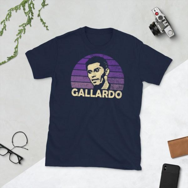 Navy Miguel Gallardo and Orlando City SC T-Shirt
