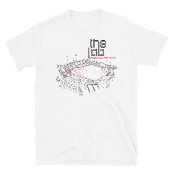 Albuquerque Isotopes and the Lab T-Shirt