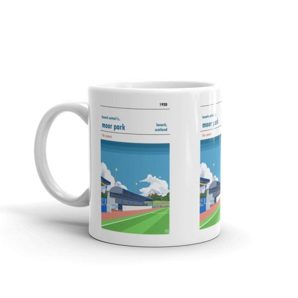 Lanark United and Moor Park Mug