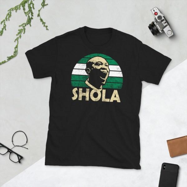 Black Shola Ameobi Nigeria T-Shirt