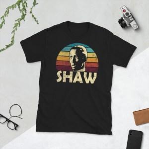 Black Malcolm Shaw T-Shirt