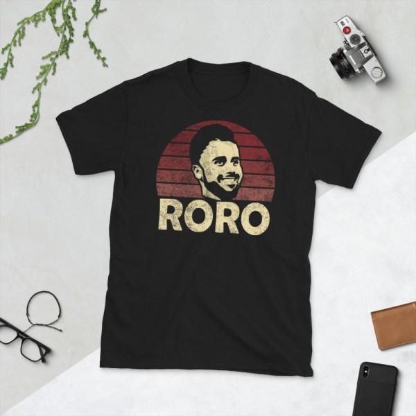 Black Rodrigo Roro Lopez T-Shirt