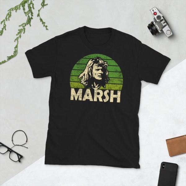 Black Rodney Marsh Tampa Bay Rowdies T-Shirt