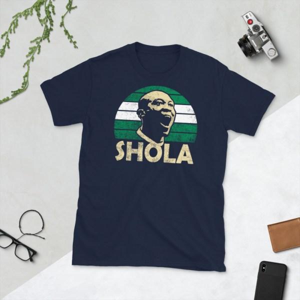 Navy Shola Ameobi Nigeria T-Shirt