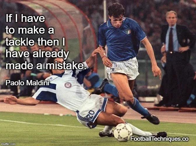 Paolo Maldini quote