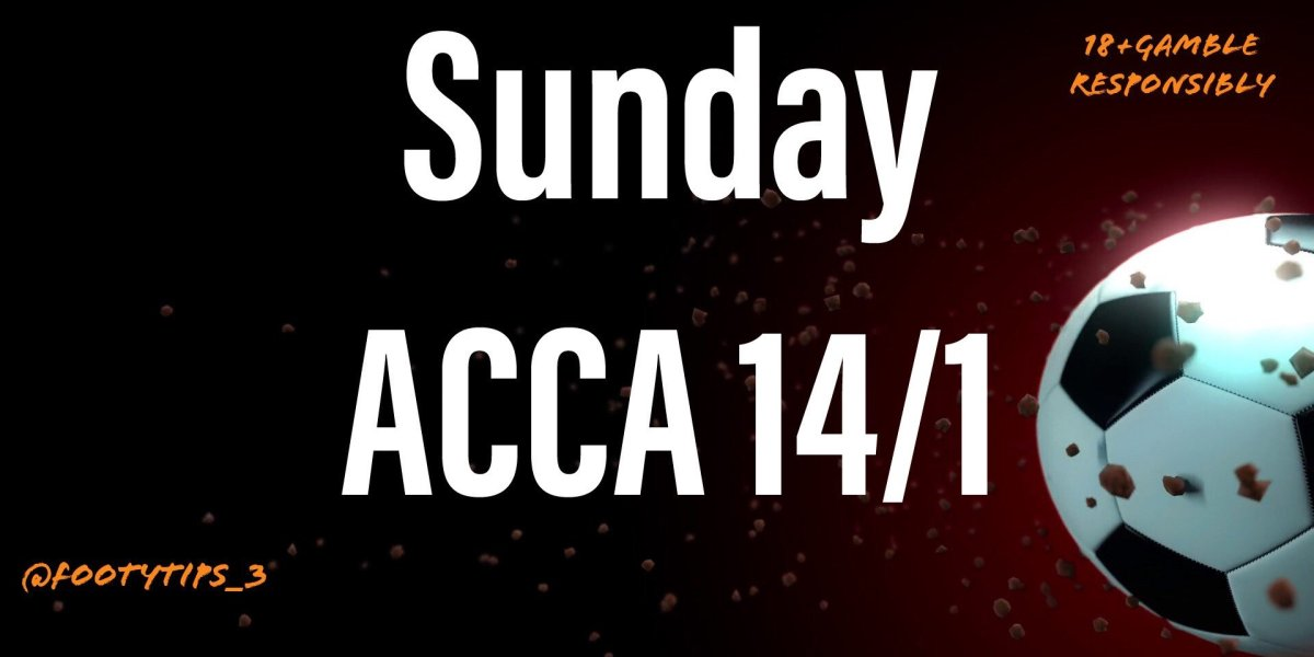 An Acca football tip at 14/1 for Sunday 21st June.