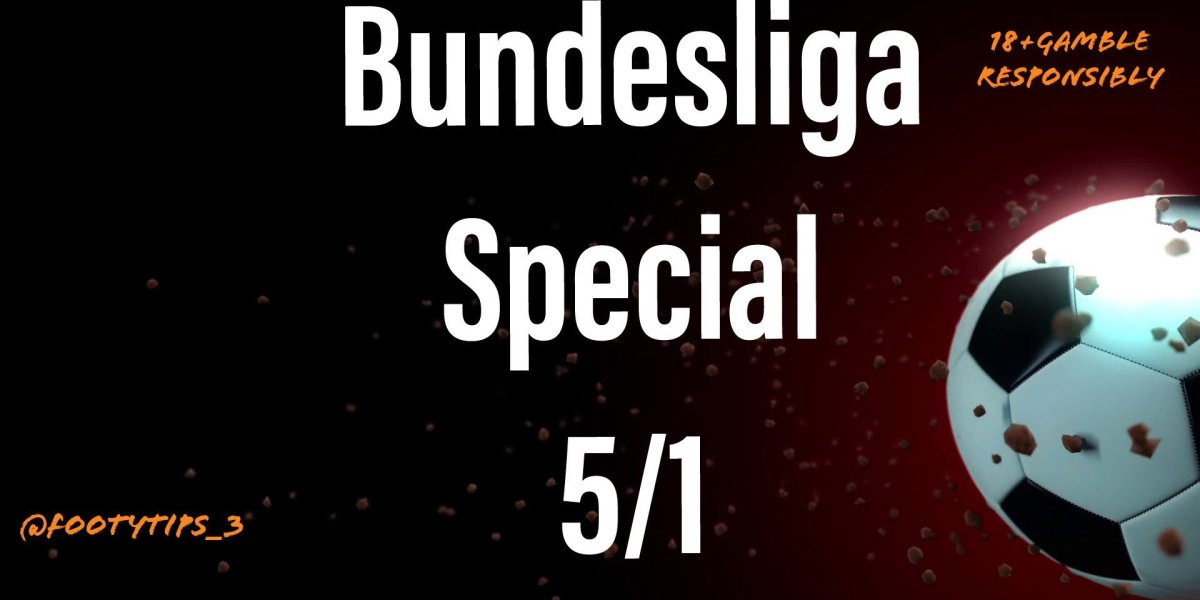A cracker looking football tip special for the Bundesliga with odds at 5/1.