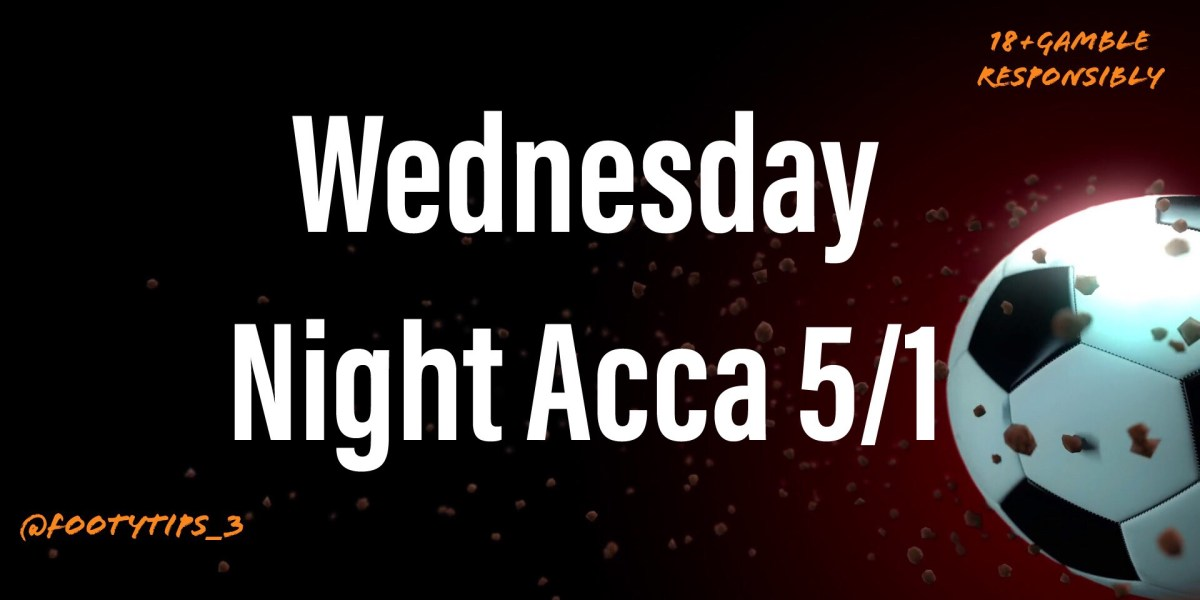 Wednesday night football tip coming in at 5/1 for 30th September.