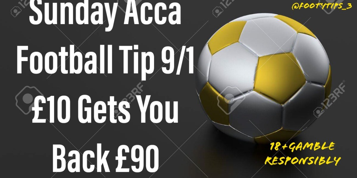 Free footballtip for Sunday 4th October at odds of 9/1.