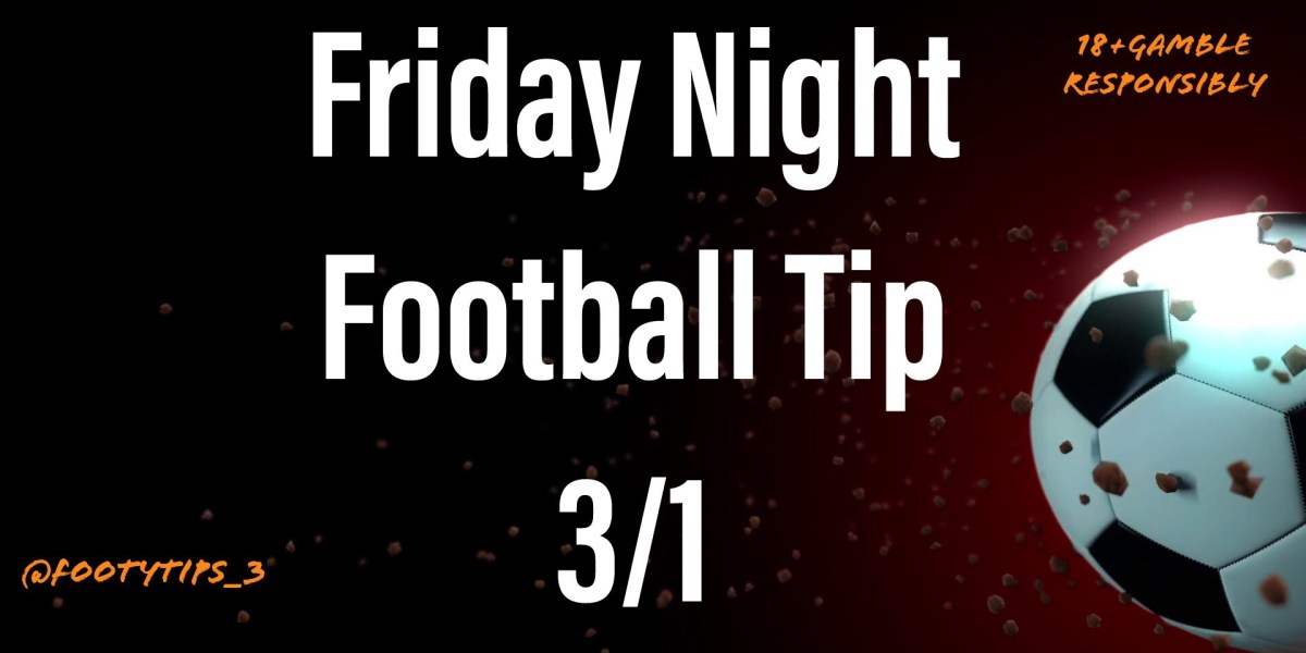 Football tip for Friday 2nd October with odds coming in at 3/1.