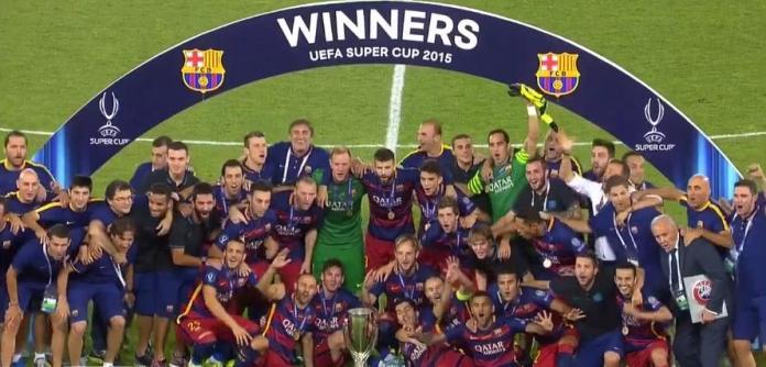 Обладатель Суперкубка УЕФА 2015 г