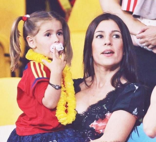 Жена футболиста Торреса