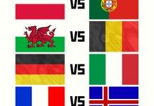 Четвертьфиналисты Евро 2016