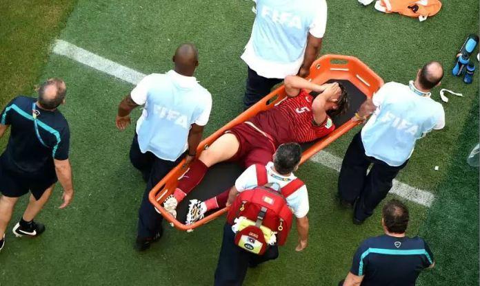 Страшные травмы в футболе