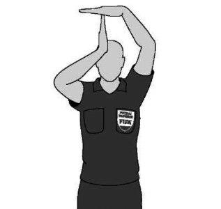 Таймаут жест в футболе