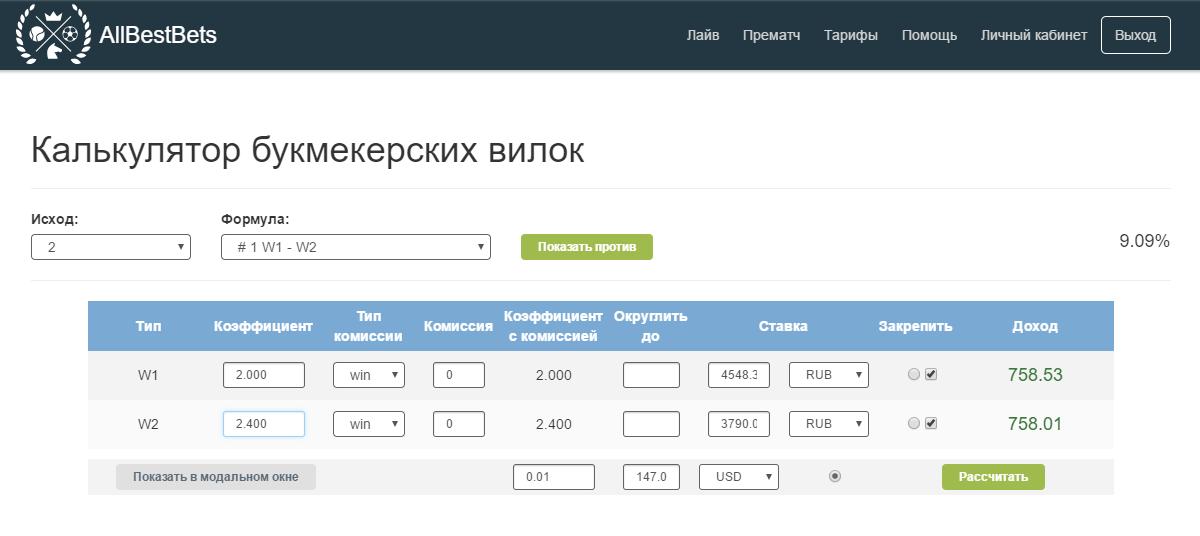 Калькулятор вилки в букмекерских конторах [PUNIQRANDLINE-(au-dating-names.txt) 62