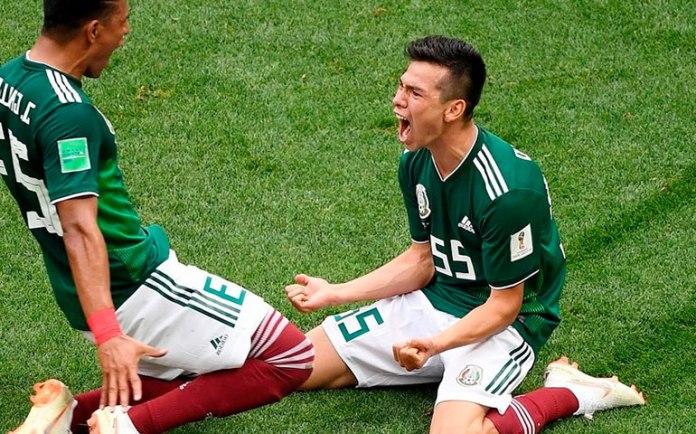 Волевая победа Мексики в футболе