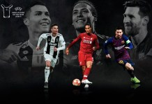 Лучшие футболисты 2019 года