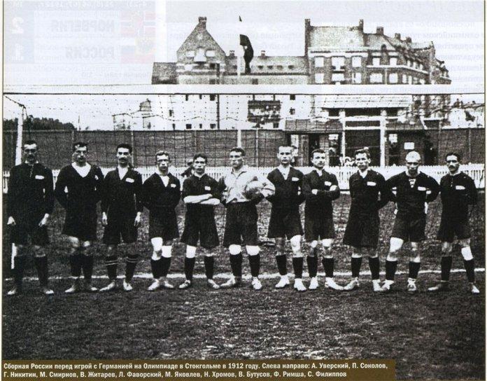 Сборная Российской империи по футболу