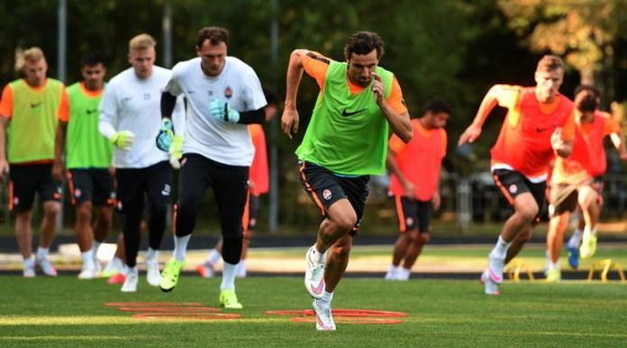 Как тренируются футболисты