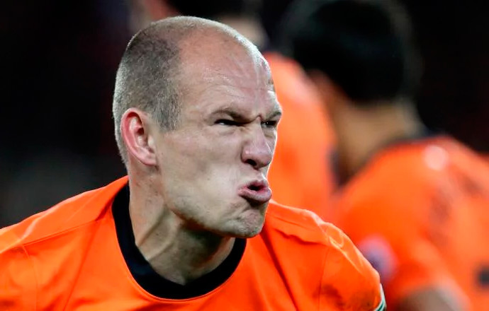 Арьен Роббен фото футболиста