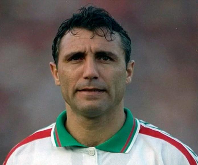 Христо Стоичков самый популярный футболист Болгарии