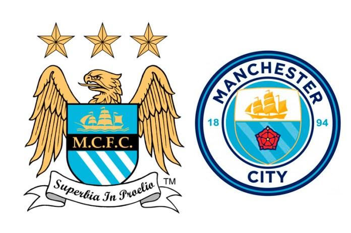 Эмблема Манчестер Сити старая и новая
