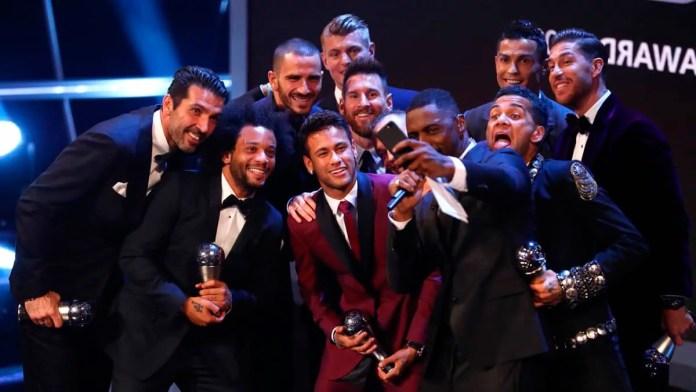 Символическая сборная года по версии ФИФА