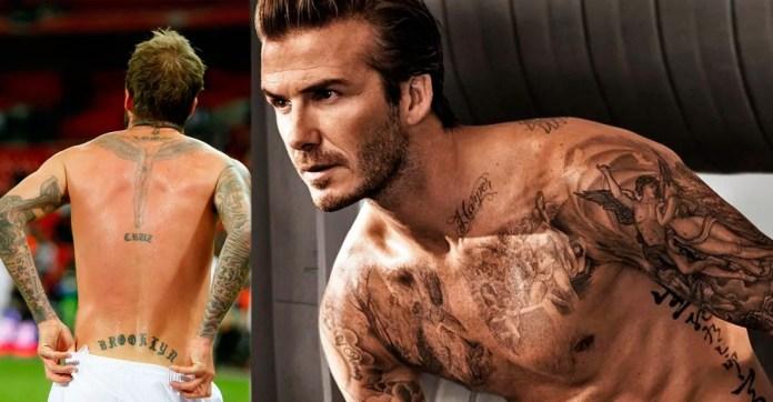 Татуировки на теле Бекхэма