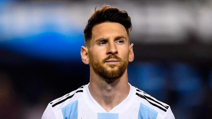 Лионель Месси в сборной Аргентине