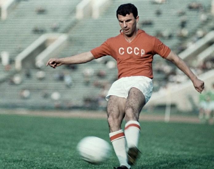 Слава Метревели в сборной СССР