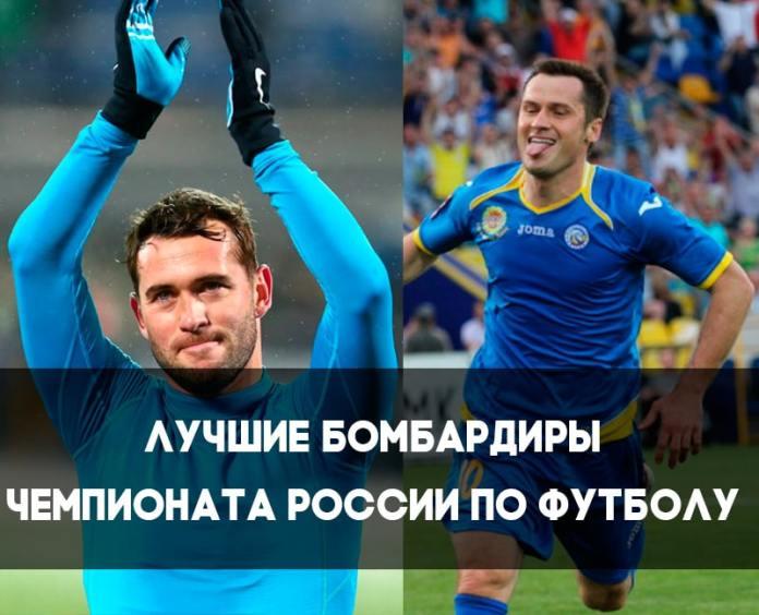 Лучшие бомбардиры чемпионата России