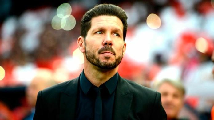 Диего Симеоне главный тренер Атлетико Мадрид