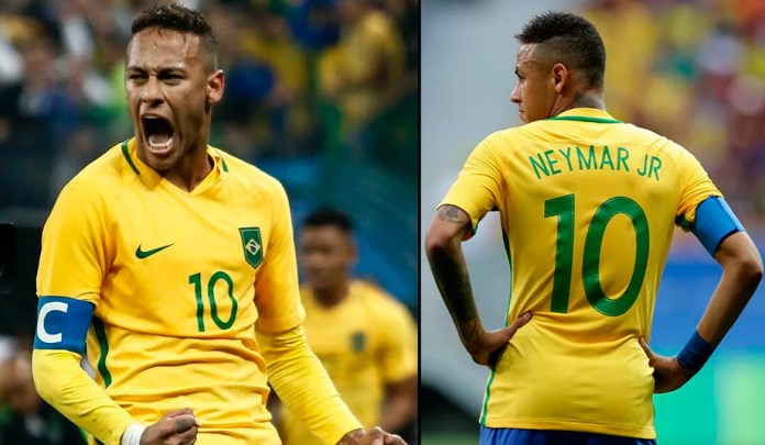 Неймар известный бразильский нападающий