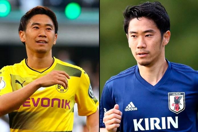 Синдзи Кагава фото японского футболиста