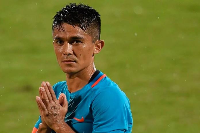 Сунил Четри сборная Индия по футболу