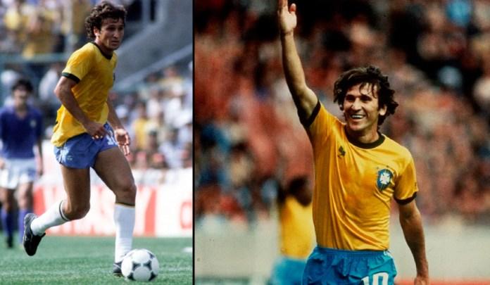 Зико фото бразильского футболиста