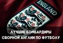 Лучшие бомбардиры сборной Англии по футболу
