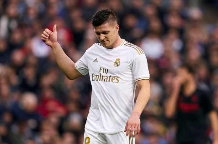 Luka jovic out 6 months