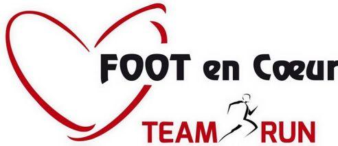 Logo Team Run Foot En Coeur