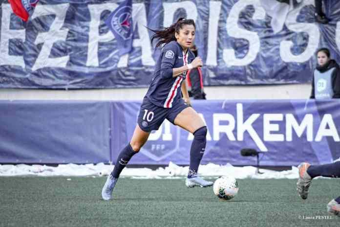 Nadia Nadim est positive au coronavirus et devrait rater le match du PSG contre le Paris FC.