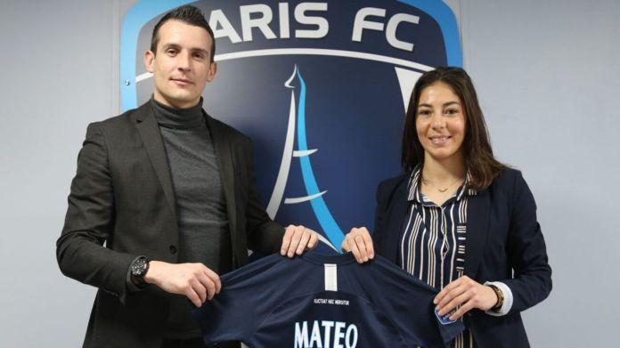 Clara Matéo a prolongé son contrat avec le Paris Fc jusqu'en 2024