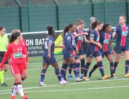Le PSG a éliminé Fleury en seizièmes de finale de la coupe de France