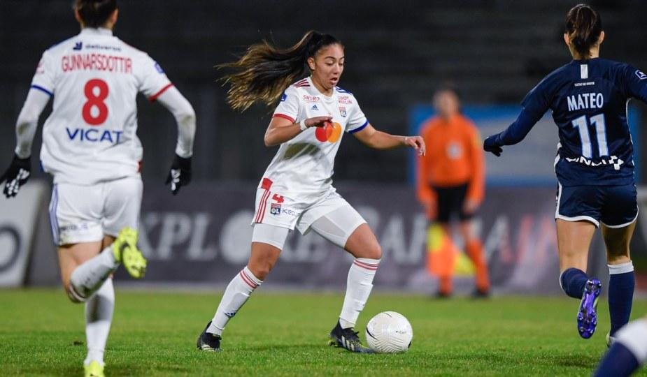 Selma Bacha a participé à la victoire de Lyon sur le Paris FC