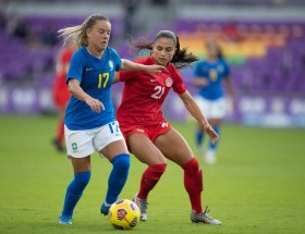 Le Brésil prend la deuxième place de la Shebelieves Cup après son succès face au Canada