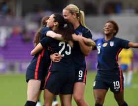 Les États-Unis ont battu le Brésil en Shevelieves Cup