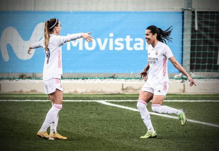 Kosovare Asllani a marqué un triplé lors de la 19e journée de Primera Division.